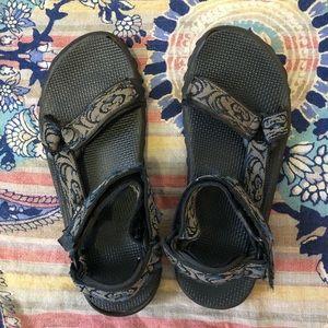 Teva Blue Brown Chipmunk Hiking Sandals